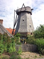 300 year old Dutch eight cornered windmill